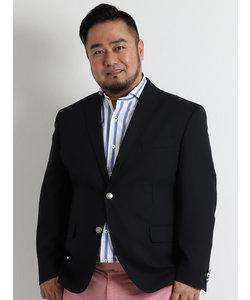 【大きいサイズのメンズ服・グランバック】クールマックスクラブネイビーサマージャケット