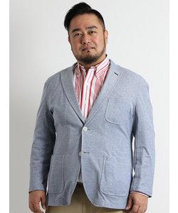 【大きいサイズのメンズ服・グランバック】イズミールコットンカノコジャケット