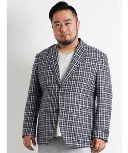 【大きいサイズのメンズ服・グランバック】【大きいサイズのメンズ服・グランバック】Di Pray チェックジャケット
