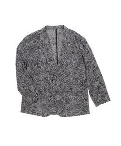 【大きいサイズのメンズ服・グランバック】バラシミラノ/barassi MILANO ボタニカルジャガードニットジャケット