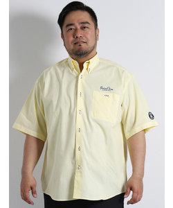 【大きいサイズのメンズ服・グランバック】シナコバ/ SINACOVA ダンガリーボタンダウン半袖シャツ