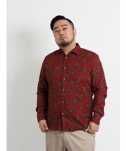 【大きいサイズのメンズ服・グランバック】デシグアル/Desigual EKAI デザイン長袖シャツ