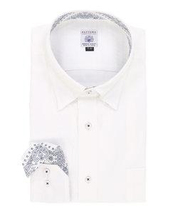 【大きいサイズのメンズ服・グランバック】FATTURA 日本製綿100%ボタンダウンビジネスドレス長袖シャツ