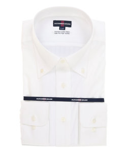 【大きいサイズのメンズ服・グランバック】アレキサンダージュリアン/ALEXANDER JULIAN 綿100%100双形態安定(ノーアイロン)テープ縫製ビジネスドレス長袖ボタンダウンシャツ