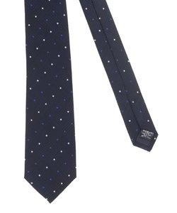 【大きいサイズのメンズ服・グランバック】シルクアーガイルxドットネクタイ 8.5cm幅