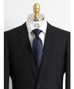 【大きいサイズのメンズ服・グランバック】シルク綾ソリッドネクタイ 8.5cm幅