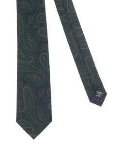 【大きいサイズのメンズ服・グランバック】シルクペイズリーネクタイ 8.5cm幅