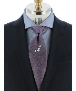 【大きいサイズのメンズ服・グランバック】アンドリュースタイ/Andrew's Ties シルクワンポイントネクタイ 8.0cm幅<br>