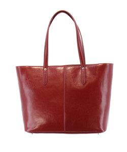 【大きいサイズのメンズ服・グランバック】スプリットレザートートバッグ(天ファスナー仕様)