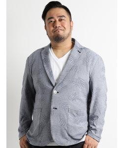 【大きいサイズのメンズ服・グランバック】ALEXANDER JULIAN リンクスリーフ柄ジャガードジャケット
