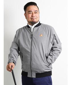 【大きいサイズ】le coq sportif GOLF (ルコックスポルティフ ゴルフ)千鳥柄フライトジャケット
