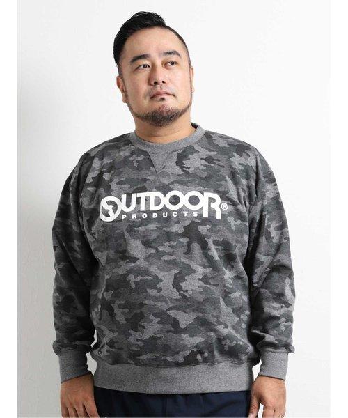 【大きいサイズ】アウトドアプロダクツ/OUTDOOR PRODUCTS ダンボール迷彩トレーナー