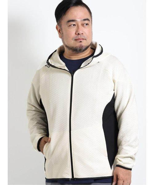 【大きいサイズ】ミズノ/MIZUNO ブレスサーモ リップルキルトフーディ