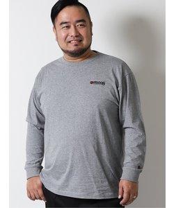 【大きいサイズ】アウトドアプロダクツ/OUTDOOR PRODUCTS 綿天竺 クルーネック長袖Tシャツ