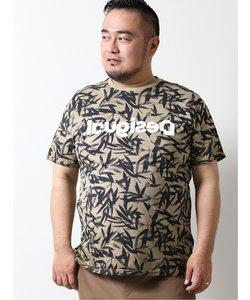 【大きいサイズ】デシグアル/Desigual 自然モチーフ 半袖Tシャツ