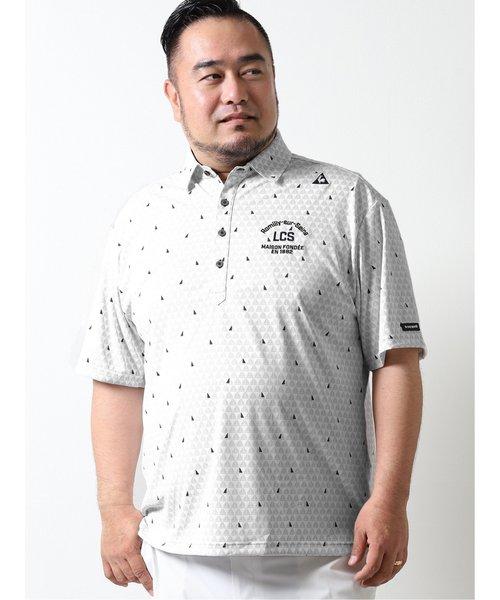 【大きいサイズ】ルコックスポルティフ ゴルフ/le coq sportif GOLF ヨット小柄 半袖ポロシャツ