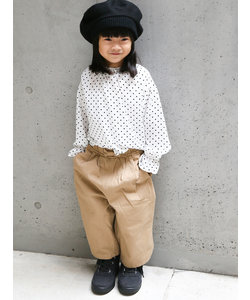 gaya girl (ガヤガール) ツイルワイドパンツ