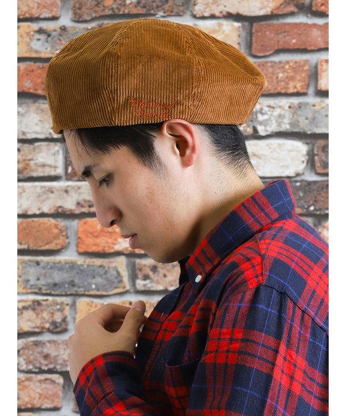 UNIVERSAL OVERALL (ユニバーサル オーバーオール)コーデュロイベレー帽