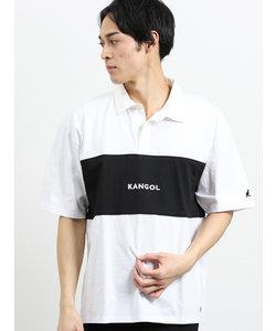 【WEB限定販売】カンゴール/KANGOL 配色切替半袖ラガーシャツ
