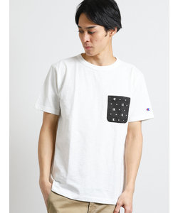 チャンピオン/Champion バックプリントクルーネック半袖Tシャツ