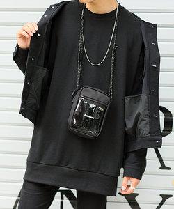 Rename PVC ポケットナイロン ミニショルダー
