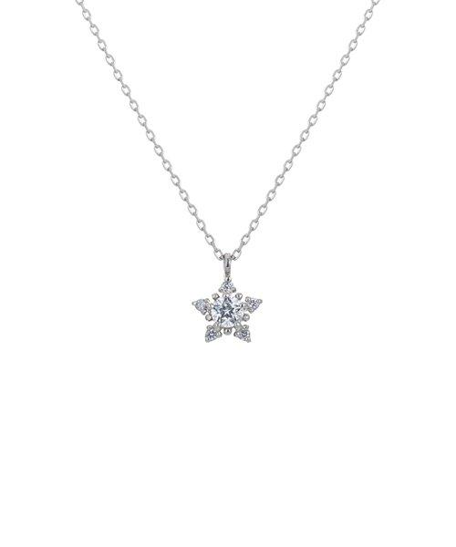 PtWish upon a star ダイヤモンド ネックレス