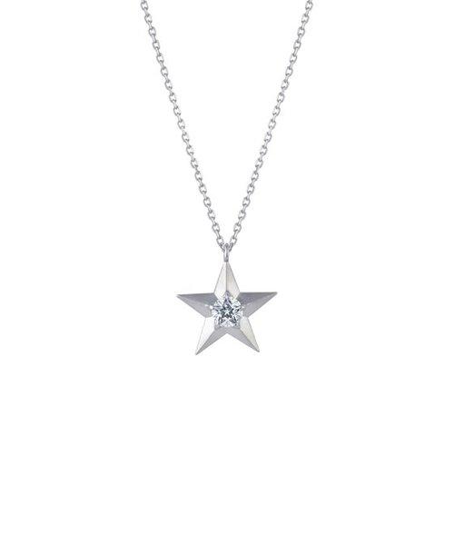 【ペア】【レディース】【Wish upon a star Twinkle】SV980 キュービックジルコニア レディース ネックレス