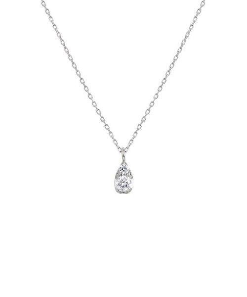 Pt900/850 ダイヤモンド ネックレス