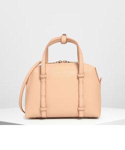 ショートボーリング トップハンドルバッグ / Short Bowling Top Handle Bag