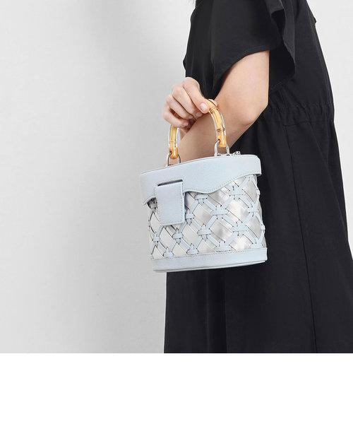 ウーブン トップハンドルバッグ / Woven Top Handle Bag