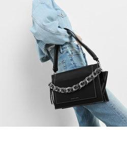チェーンハンドル ショルダーバッグ /Chain Handle Shoulder bag