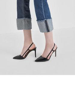 ポインテッドトゥ スリングバックヒール / Pointed Toe Slingback Heels