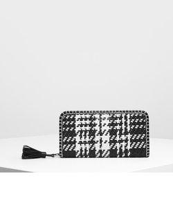 ウーベンタッセルジップ アラウンドウォレット / Woven Tassel Zip Around Wallet