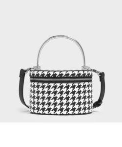 メタルハンドル ストラクチャーバッグ / Metal Handle Structured Bag