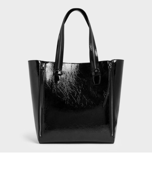 ダブルジッパー トートバッグ / Double Zipper Tote Bag