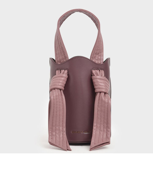 ノットハンドルバケツバッグ / Knotted Handle Bucket Bag