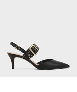 スタッズ スリングバックヒール / Studded Slingback Heels