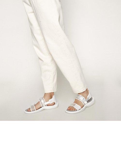 メッシュチャンキーサンダル / Mesh Chunky Sandals