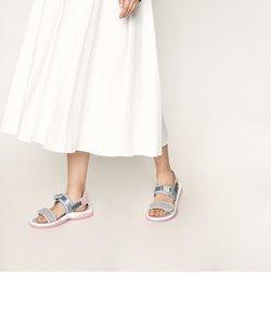 ライクラ&マイクロスエード チャンキーサンダル / Lycra & Microsuede Chunky Sandals