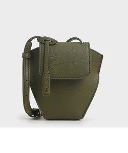 ジオメトリック クロスボディバッグ / Geometric Crossbody Bag