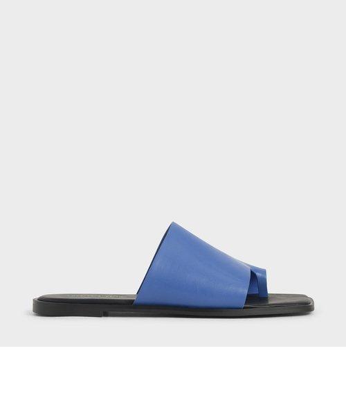 トゥループ スライドサンダル / Toe Loop Slide Sandals