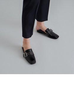 グロメットスクエアトゥ ローファー / Grommet Square Toe Loafers