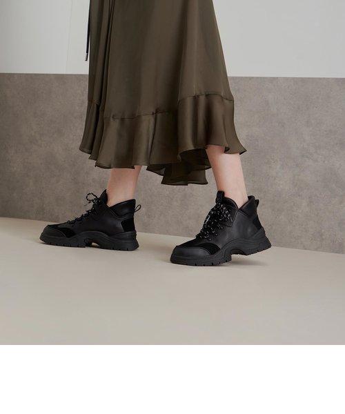 テクスチャード チャンキーハイトップスニーカー / Textured Chunky High Top Sneakers