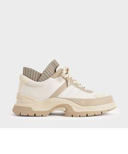 レースアップ チャンキースニーカー / Lace Up Chunky Sneakers