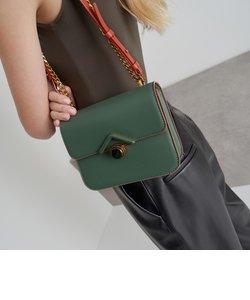 ストーンエンベリッシュドバックル クロスボディバッグ / Stone Embellished-Buckle Crossbody Bag