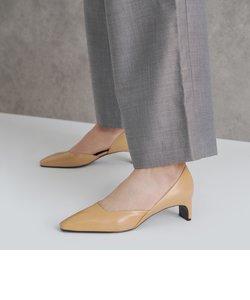 スクエアトゥ ドルセイヒール / Square Toe D'Orsay Heels