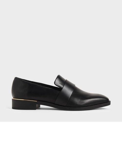 クラシックスクエアトゥローファー / Classic Square Toe Loafers