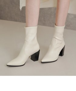 【2020 FALL 新作】スタックドヒール アンクルブーツ / Stacked Heel Ankle Boots