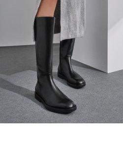 サイドジップ ニーハイブーツ / Side Zip Knee High Boots