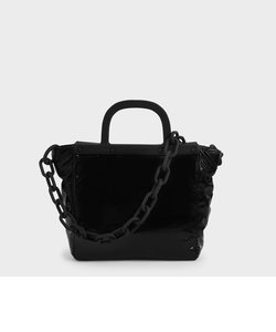 シースルー トートバッグ / See-Through Tote Bag